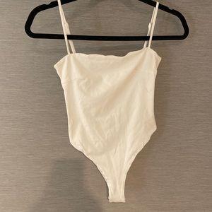 Tigermist white bodysuit